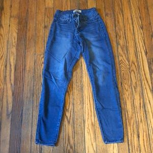 Blue Spice Jeans - blue skinny jeans
